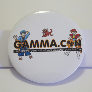 Large GAMMA.CON Badge